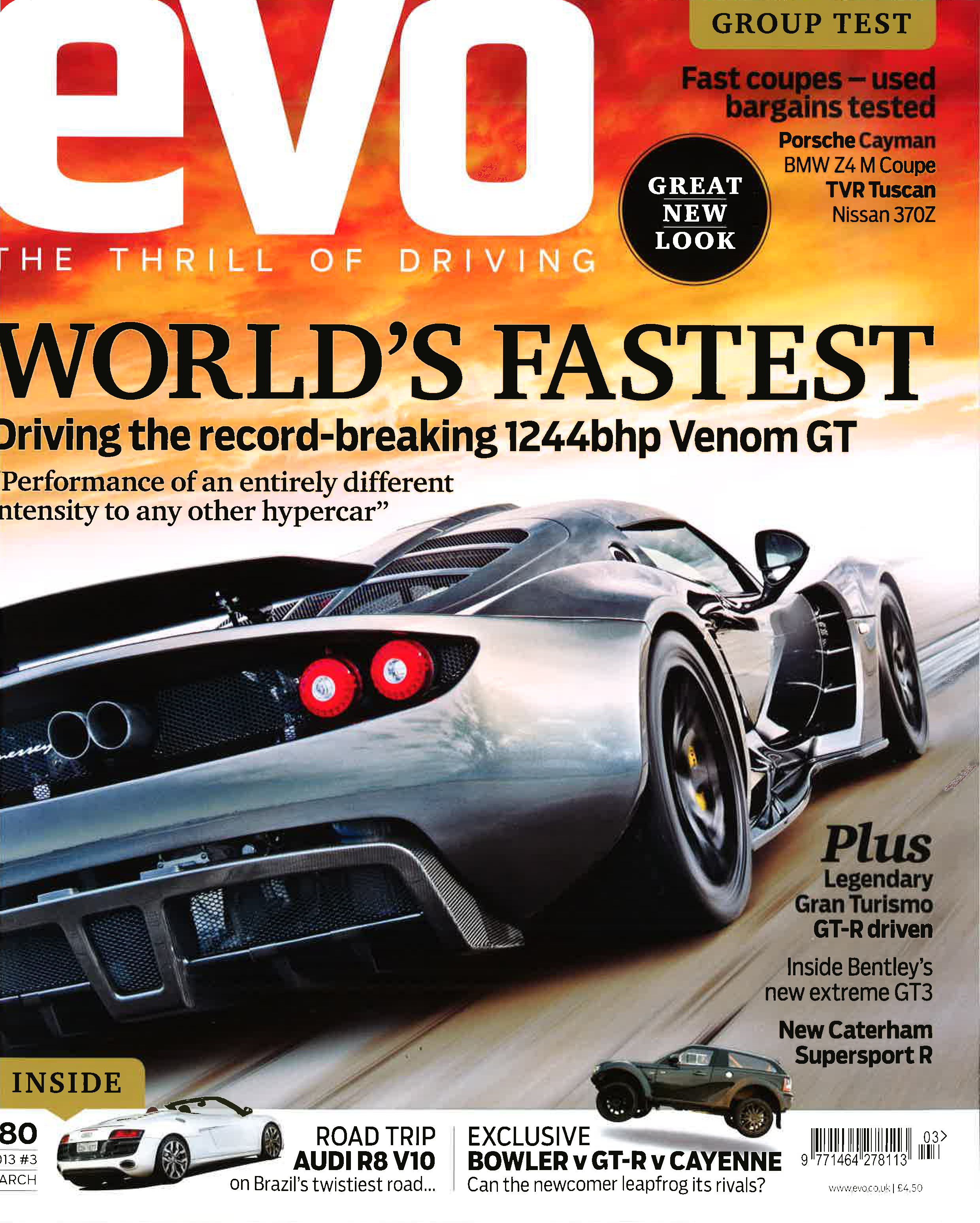 EVO Magazine March 2013