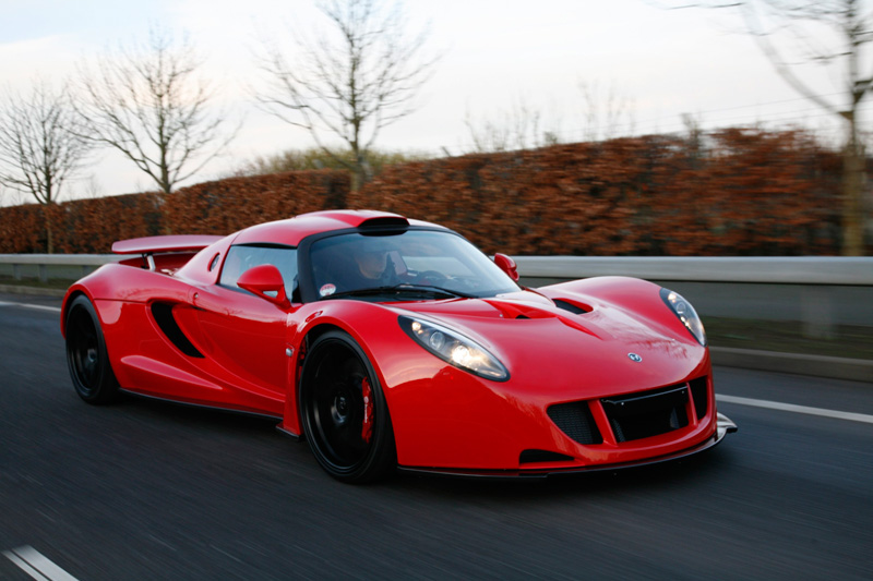 Hennessey Venom GT - 1244 HP, Top Speed 276 MPH?