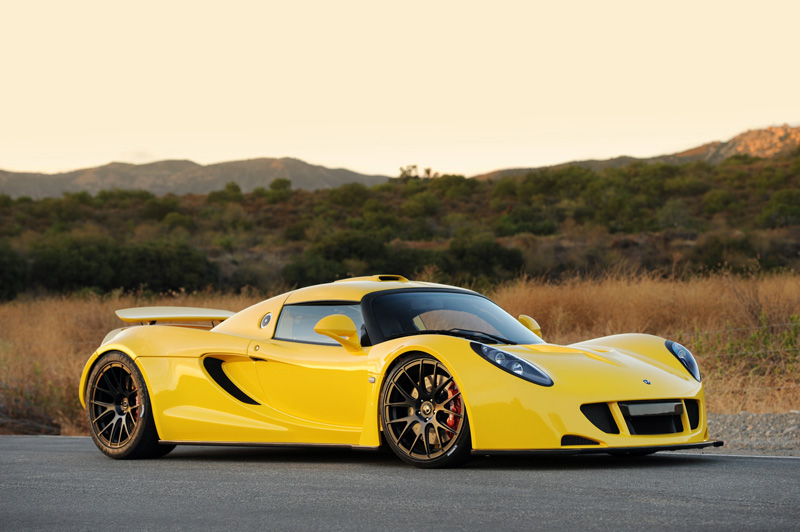 Yellow Venom Gt P4 Hennessey Venom Gt