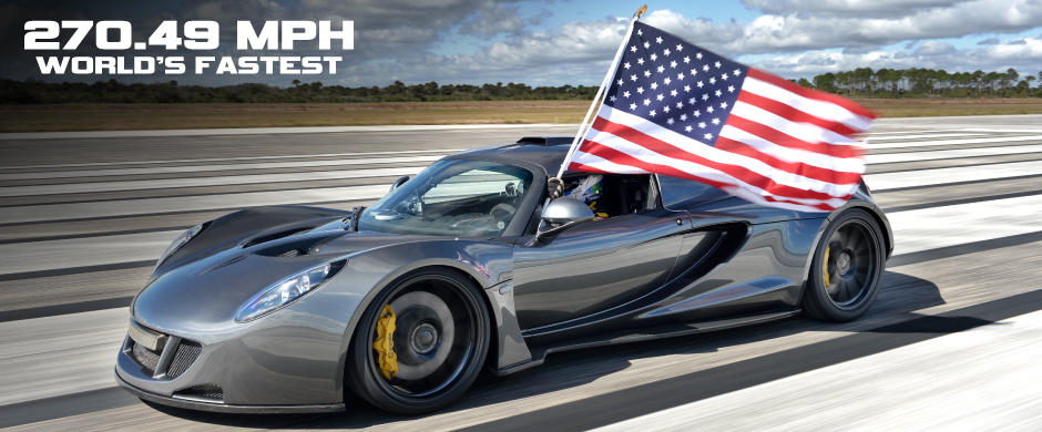 World's Fastest: 270.49 mph
