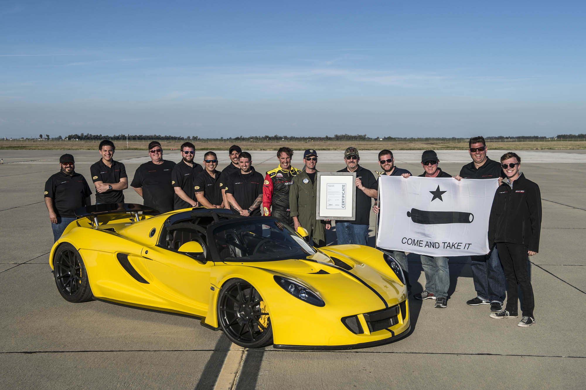 Venom GT Spyder Top Speed Record | Hennessey Venom GT