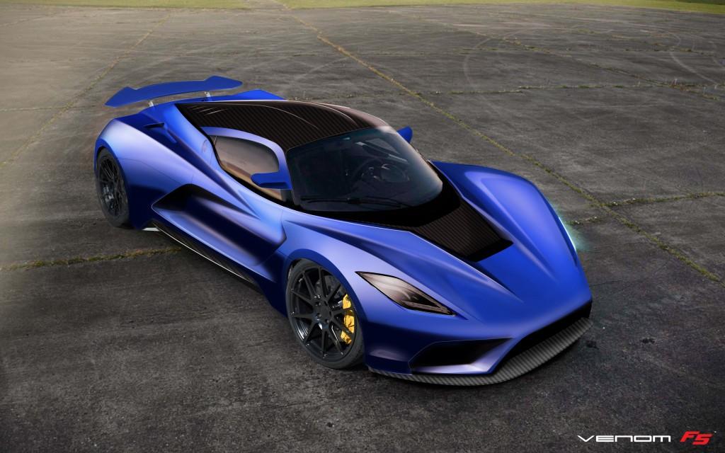 Hennessey Venom F5 Blue