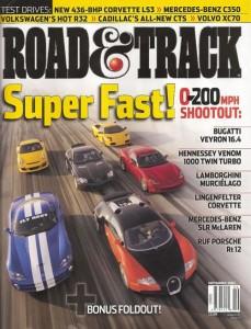 Road & Track Venom 1000 vs. Veyron