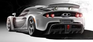 Hennessey Venom GT Concept Rear