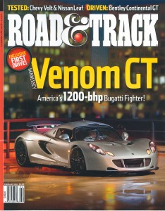 Road & Track Cover
