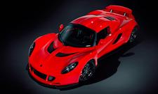 Red Hennessey Venom GT Studio