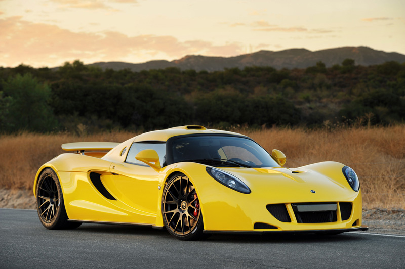 Saleen S7 For Sale >> Yellow Venom GT P4 | Hennessey Venom GT