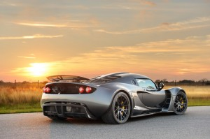 Hennessey Venom GT in Dark Knight Gray