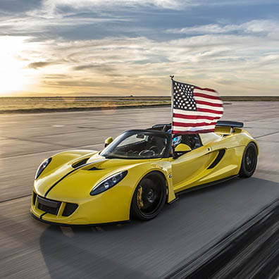 World's Fastest Convertible: 265.6 mph (427.4 km/h)