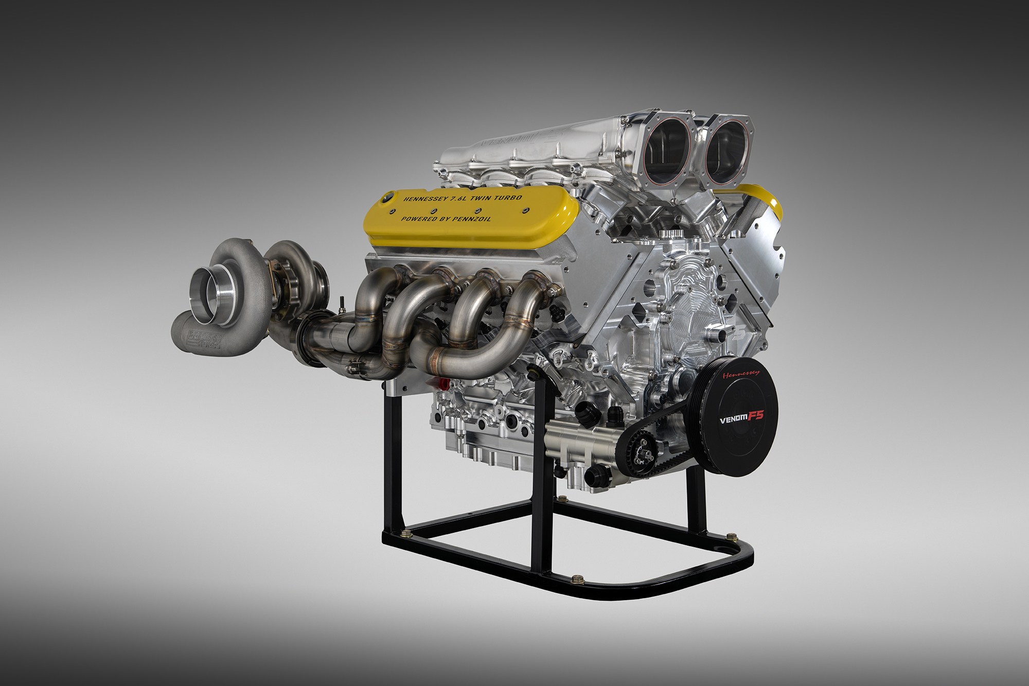 Venom F5 Engine Details